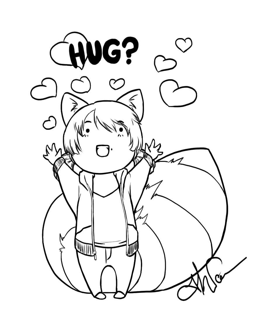 COLOR ME - HUG by Nytrinhia
