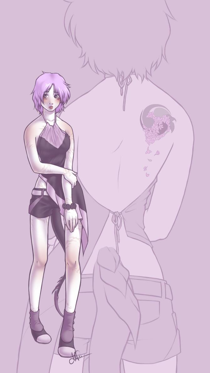 The Lilac Stray by Nytrinhia