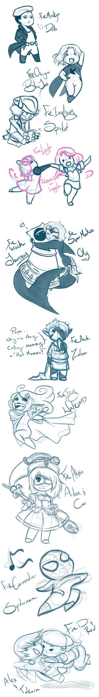 Sketch Requests12-29-12 by Yokoboo