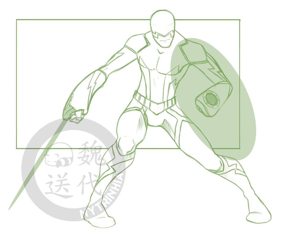 Comm - CoHMissKyo - Lightning Hero Refined by Nytrinhia