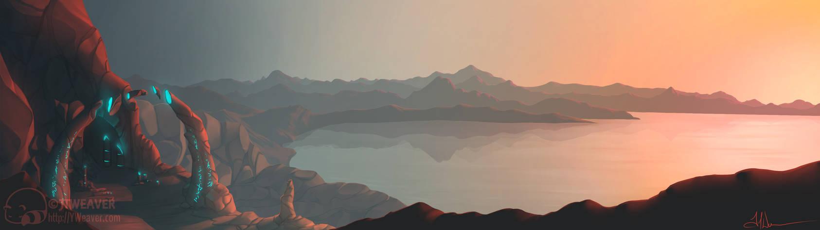 Comm - Gray Fox - Landscape