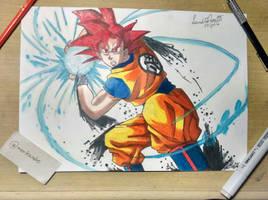Goku Fan art!