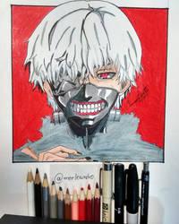 Kaneki fan art