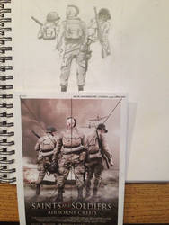 Saints and Soldiers: Airborne Creed WIP 3 by Super6-4
