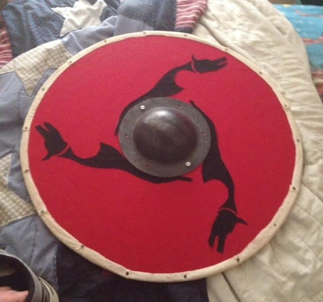 My First Homemade Viking Shield by Super6-4