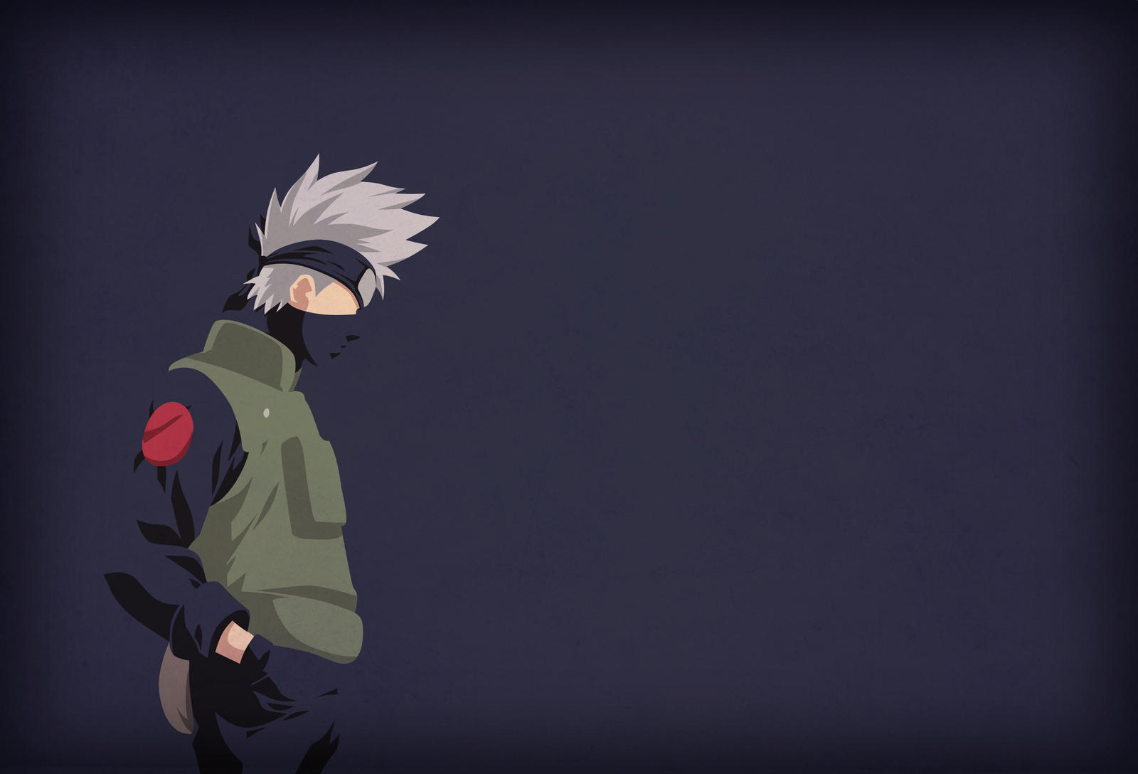 Kakashi Sensei Minimalist Wallpaper By Horira21 On Deviantart