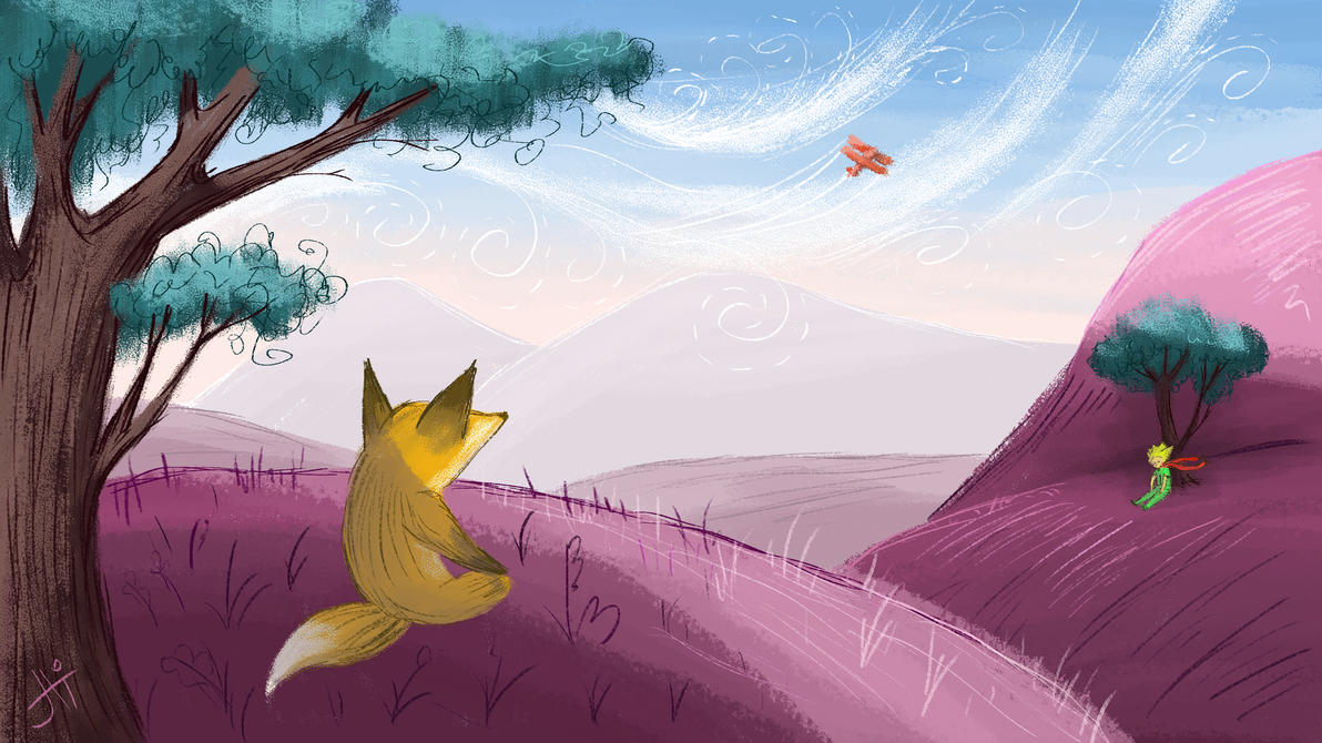Le Petit Prince by Wolf-Dee