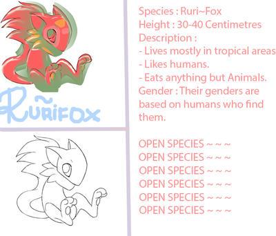 Rurifox Ref Sheet. by KirigayaKazutoKirito