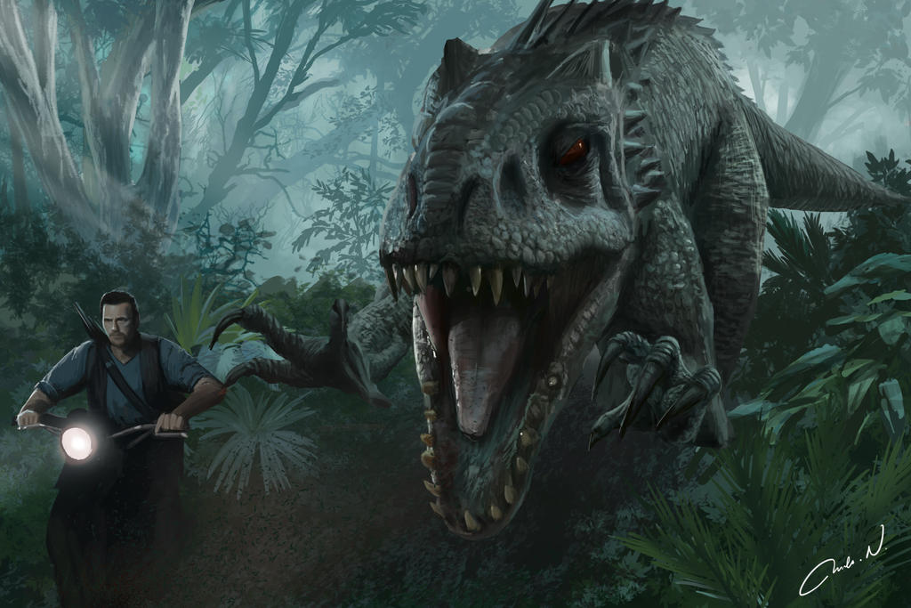 Jurassic World Fan Art By Reartion On Deviantart