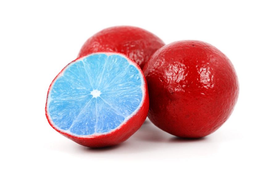 Red Blue Lemon by 9GreY1 on DeviantArt