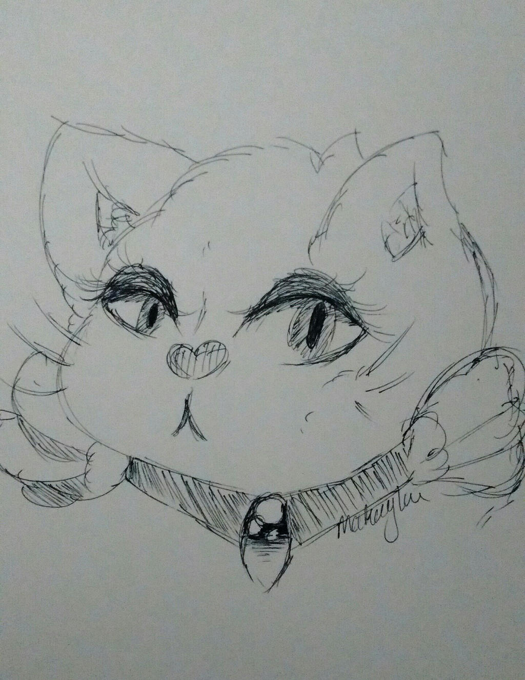 I really can't draw cats by oemei