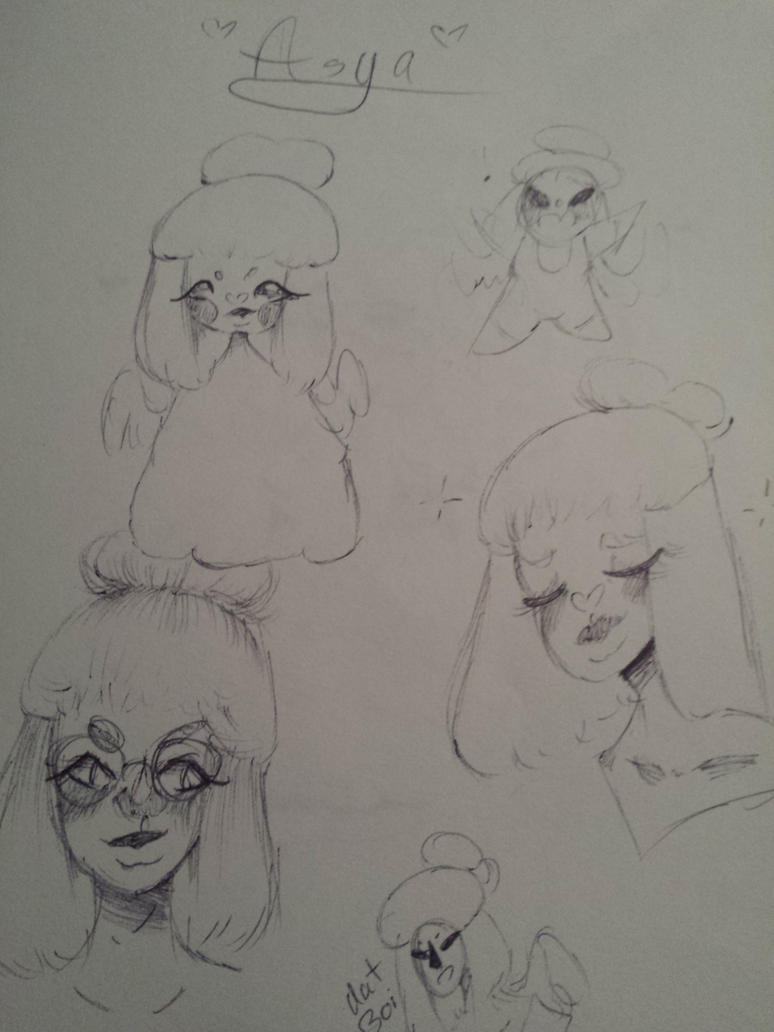 Asya sketch page by oemei