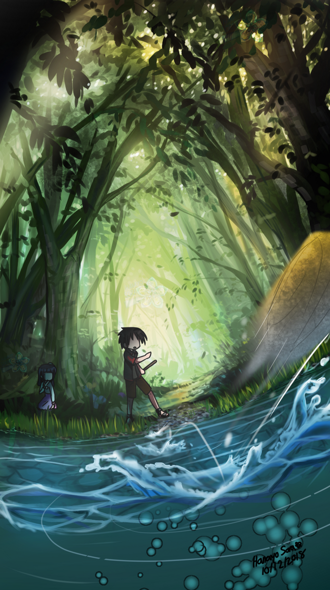 A Memory in the Forest by ReiAndHana