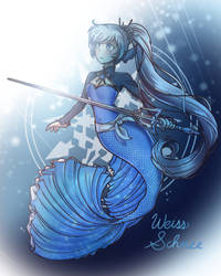 Weiss Mermaid by ReiAndHana