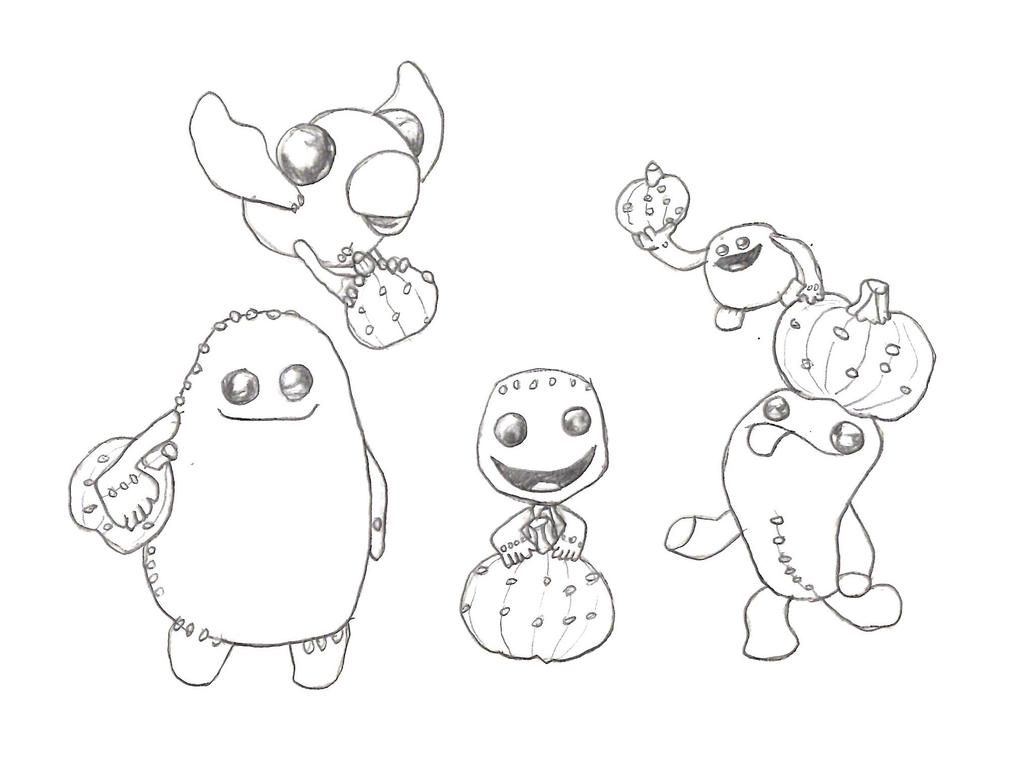 LittleBigPlanet 3 Autumn Coloring Page