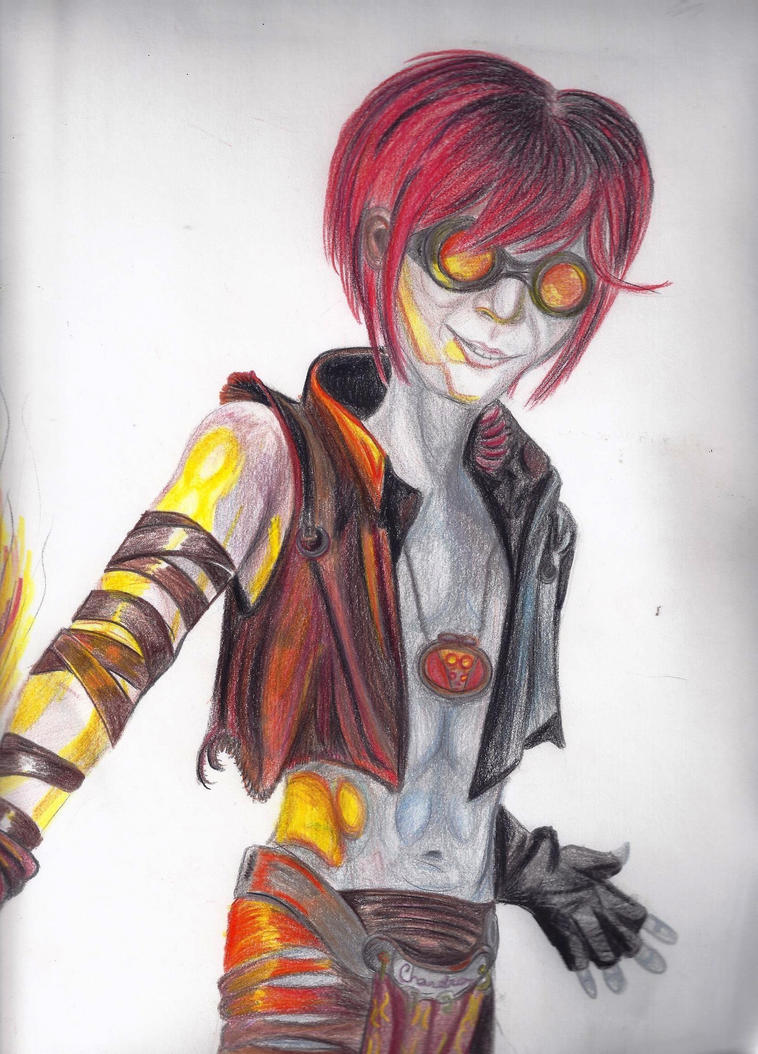 Young Pyromancer by  Young Pyromancer