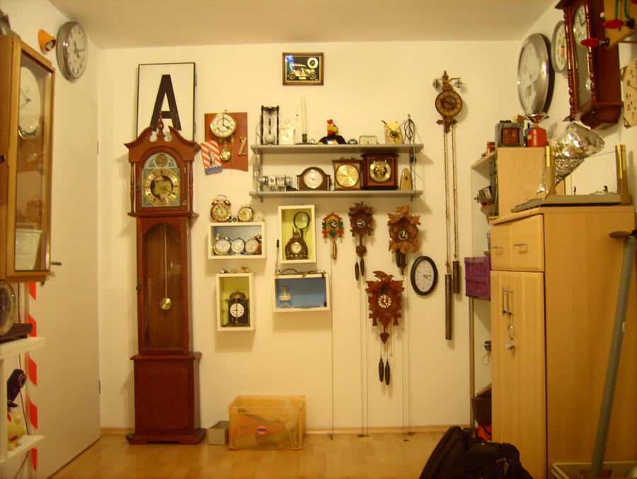 My clocks part 6 by Hour-glass9494