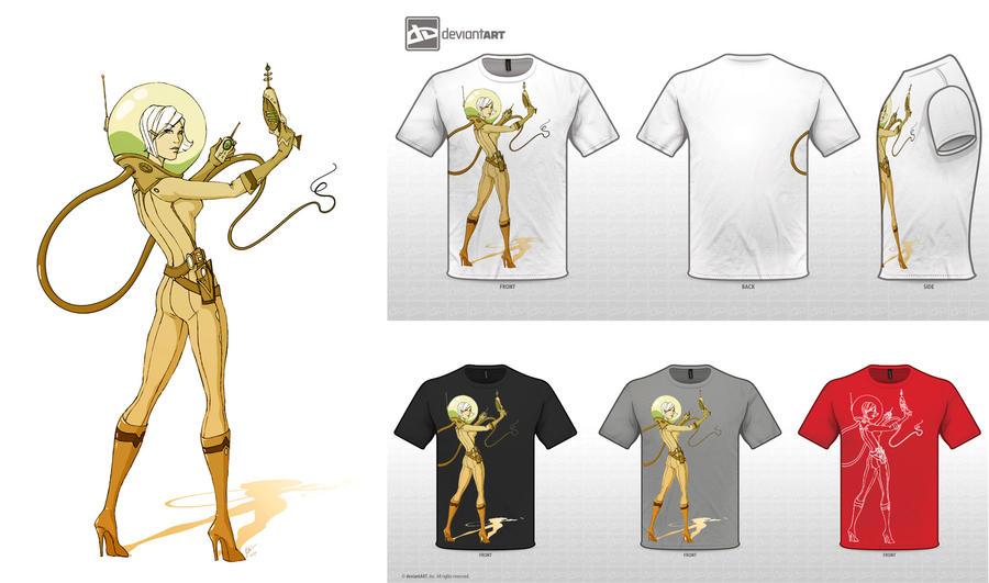 Retro Future T-Shirt by KiloWhat