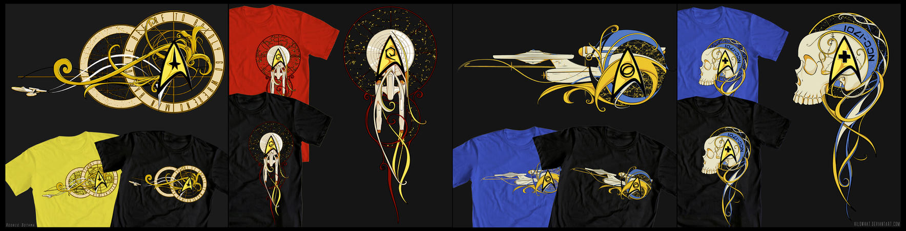 WLF: Star Trek Design Contest by KiloWhat
