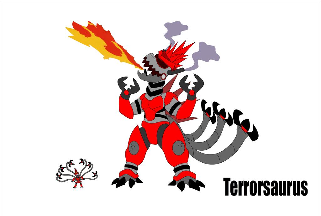 Terrorcorn's Greatous Monster, The Terrorsaurus by Zacharygoblin55