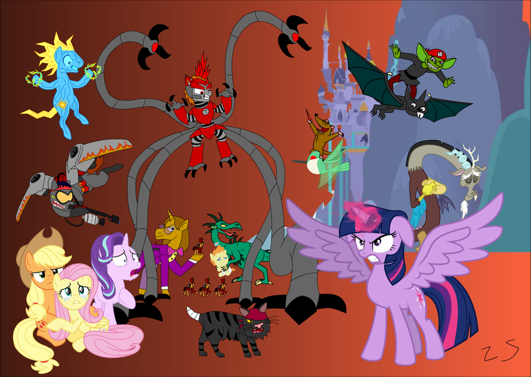 my little pony chaos - photo #12