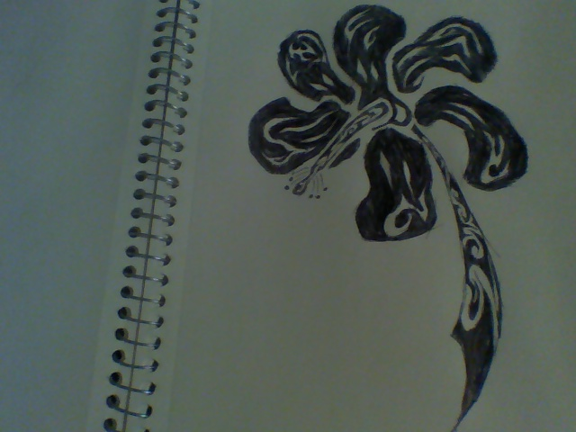 Hawaiian Flower Tribal Drawing | www.imgkid.com - The ...