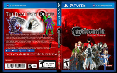 PS VITA- Castlevania: Souls of Sorrow