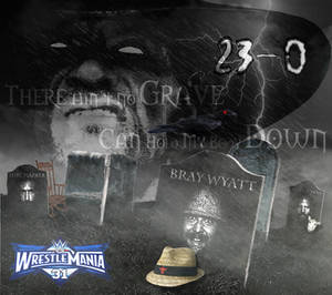 WWE WrestleMania 31: Wyatt Family's Graveyards