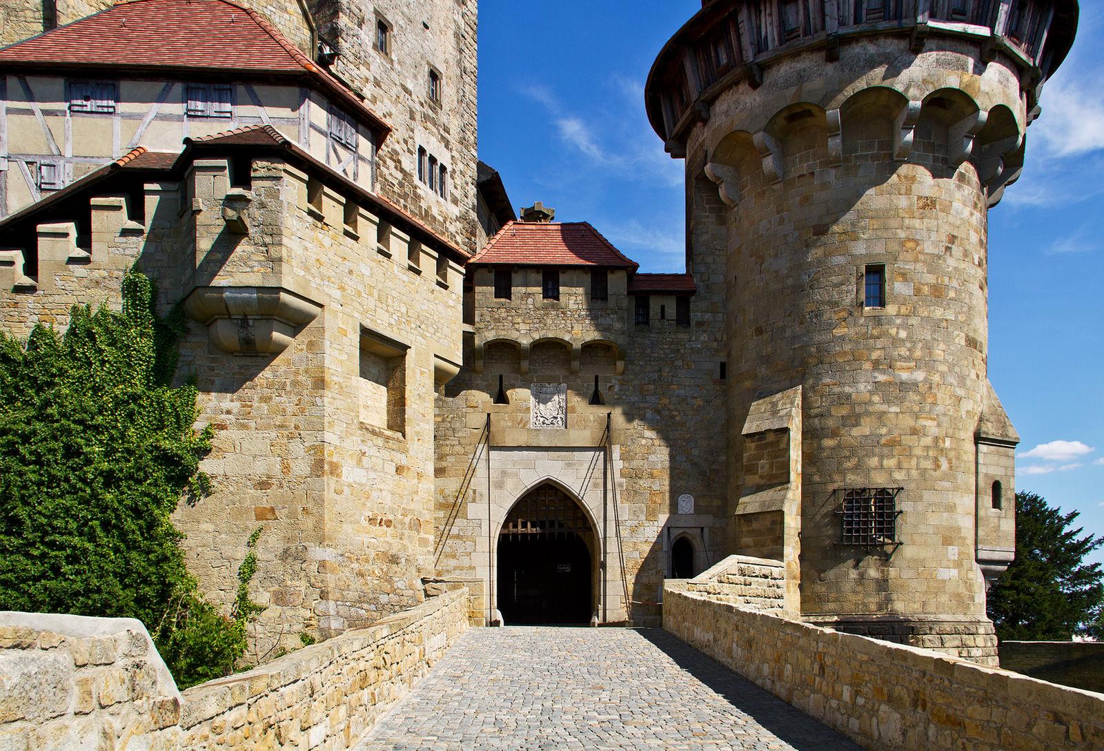 Burg Kreuzenstein Stock 15