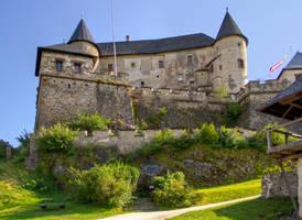 Burg Hochosterwitz Stock 9 by AlexanderHuebner