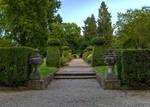 Stift Kremsmuenster Garden Stock 2