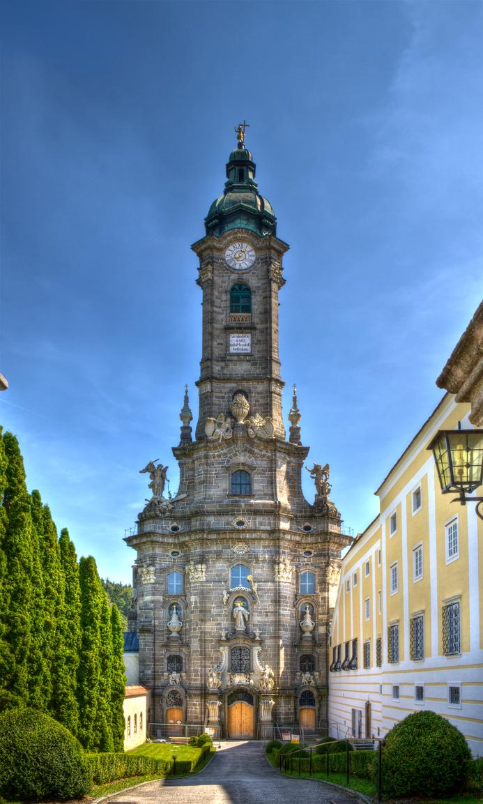 Stift Zwettl Church Stock 1 by AlexanderHuebner