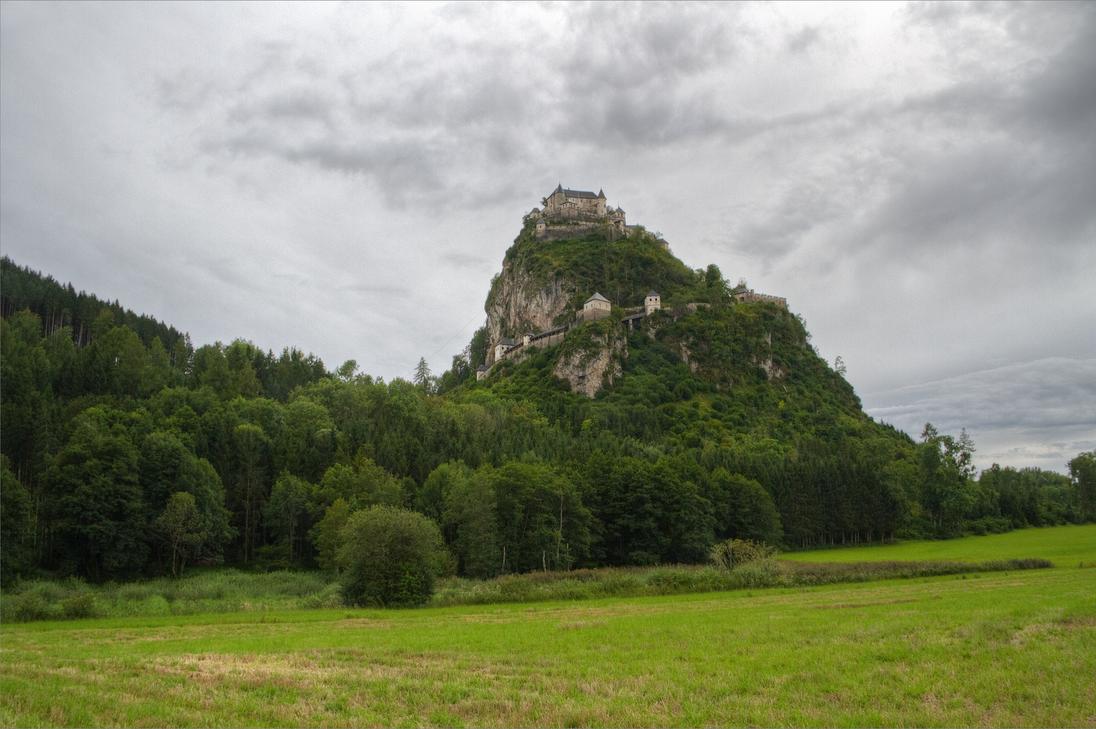 Burg Hochosterwitz 2014 Stock 1 by AlexanderHuebner