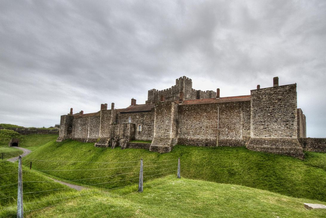 Dover Castle 5 by AlexanderHuebner