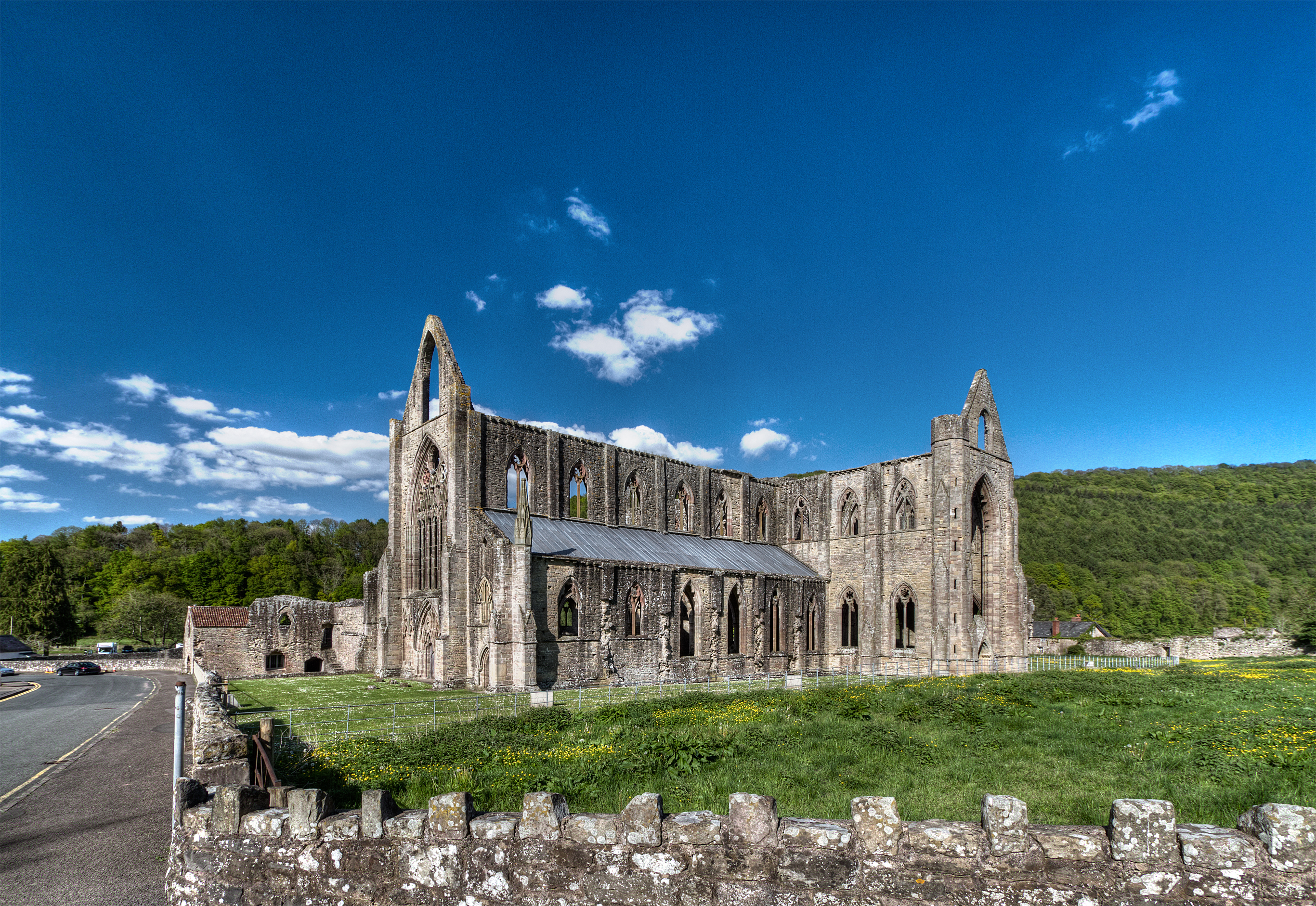 Tintern Abbey Stock 3 by AlexanderHuebner