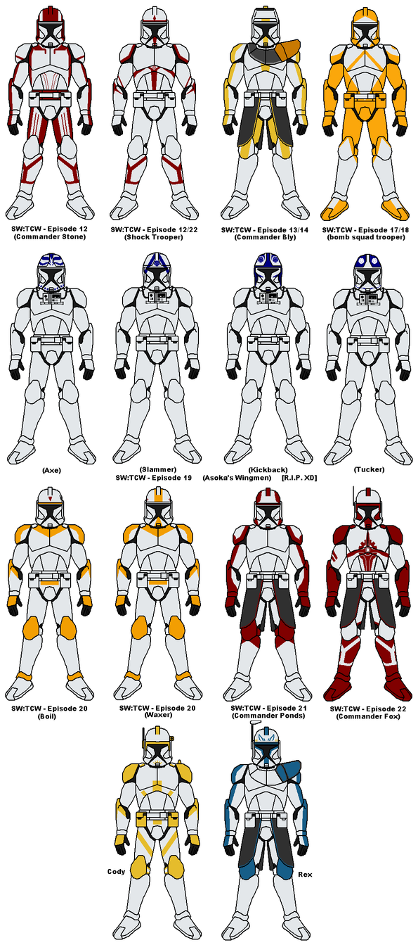 Clone Trooper Coloring Page