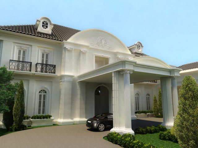 Exterior classic house by gtodesign on deviantart for Classic home exteriors
