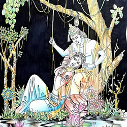 DEVINE love of Radha Krishna