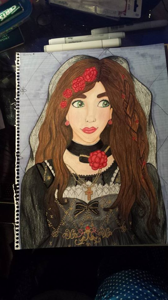 WIP4 Elizabeth Bride of Death by orange-fire-demon