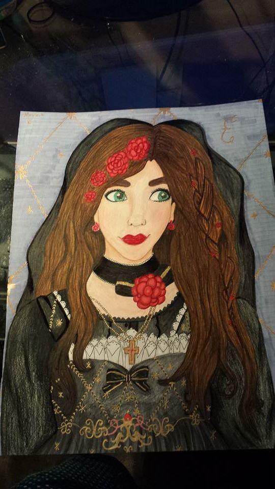 Elizabeth Bride of Death by orange-fire-demon