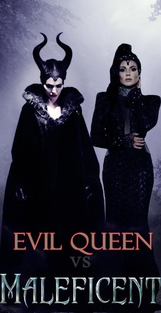Evil Queen Vs Maleficent By Martinmiguel On Deviantart
