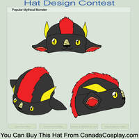Asian Dragon Hat Design by kmccaigue