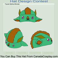Asian Dragon Hat Color 2 by kmccaigue