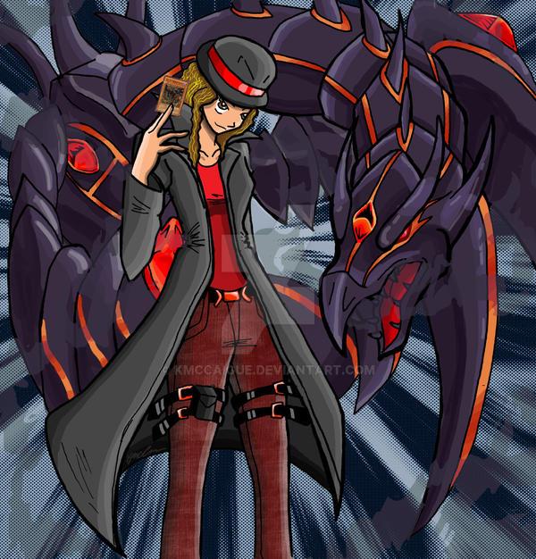 redeyes darkness dragon tamer by kmccaigue on deviantart