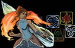 Legend of Korra Badge Art