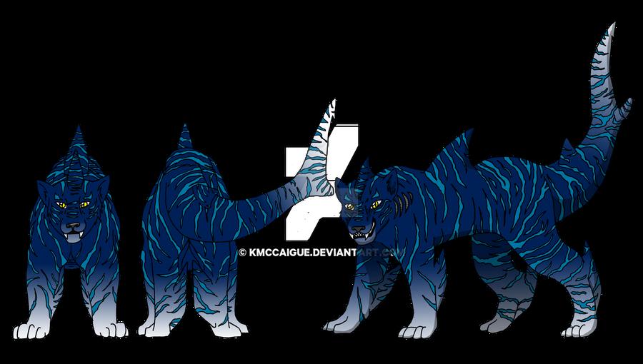 Avatar Universe Original Animal: Tiger Shark by kmccaigue on