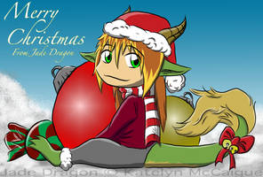 Merry Christmas from Jade Dragon by kmccaigue