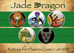Jade Dragon Buttons