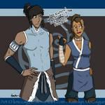 Gender-bend Korra and Sokka