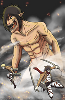 Attack on Titan by kmccaigue